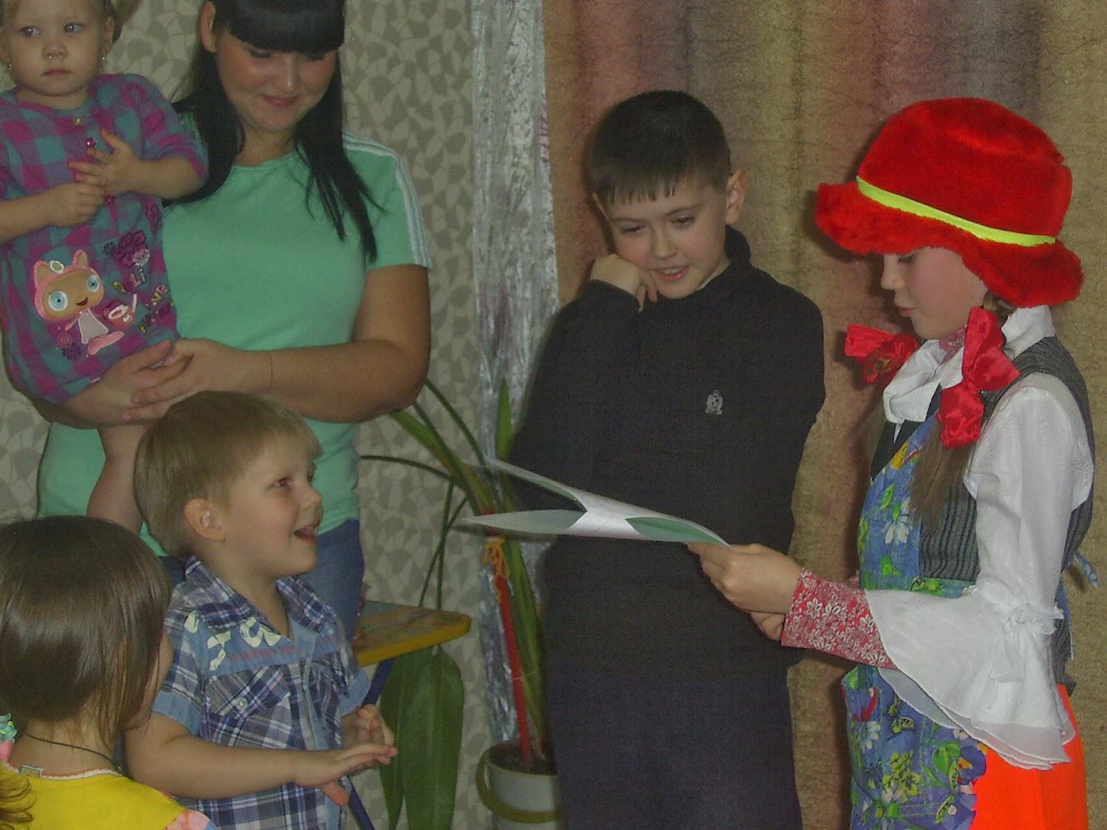 Сценарий для детей про бабу ягу
