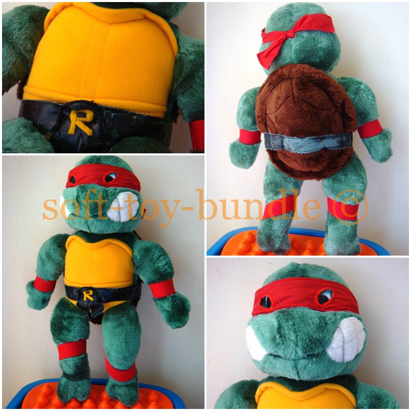 item p389# RAPHAEL TEENAGE MUTANT NINJA TURTLE (XL) SOLD