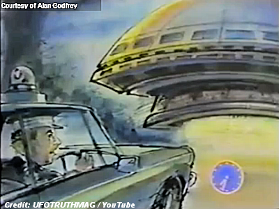 Police Constable, Alan Godfrey Abducted by Aliens