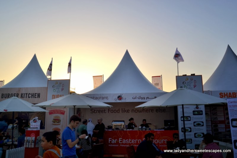 Wok It Restaurant at the Dubai Food Carnival