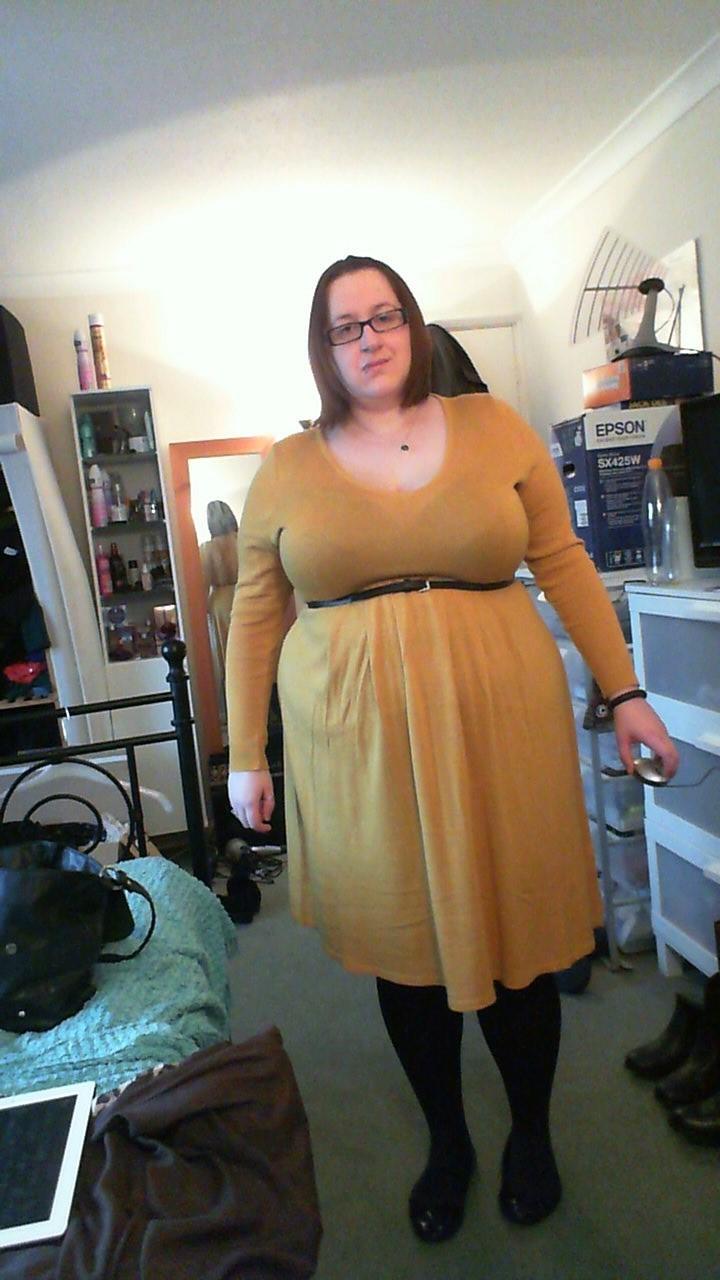 Dress asos belt from another dress tights tesco pumps