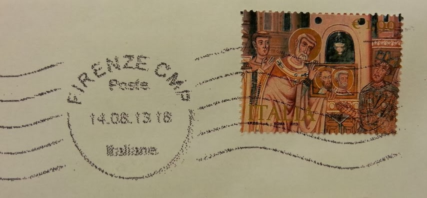 francobollo per il 1700° anniversario dell' Editto di Milano