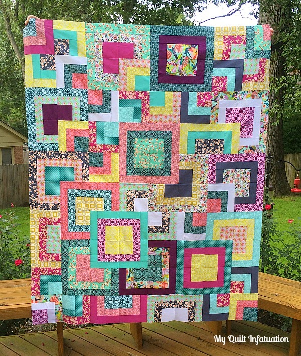 Square Quilt Patterns Free : My Quilt Infatuation: Stacked Squares Love