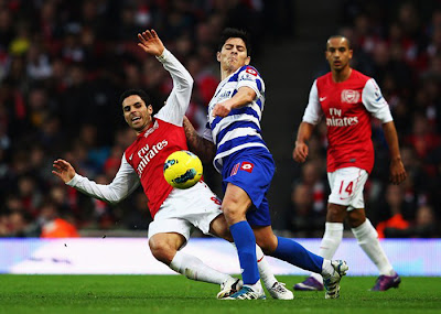 Arsenal 1 - 0 Queens Park Rangers (3)