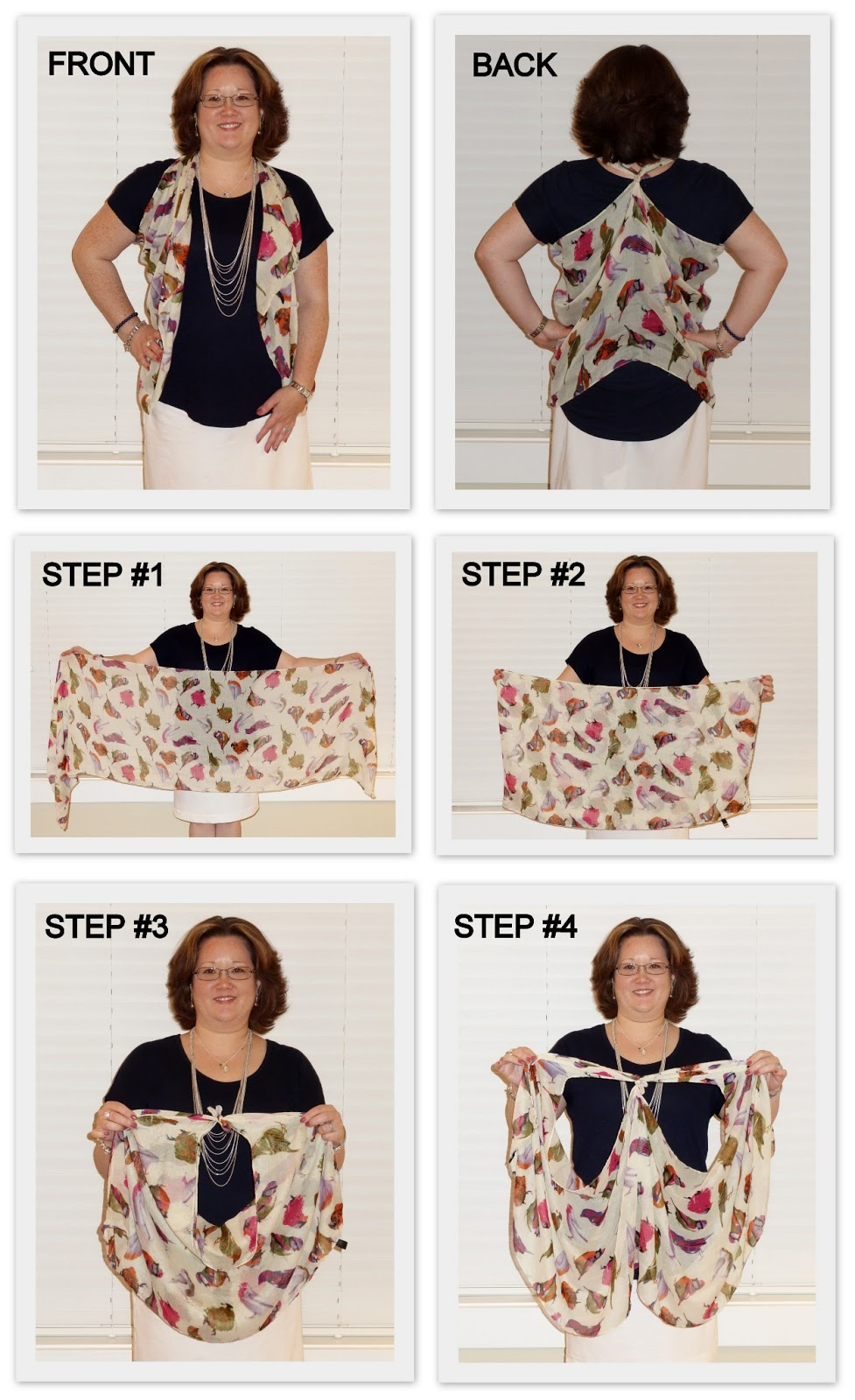 Monica S Beauty Boutique How To Tie A Scarf Into A Vest
