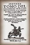 Lectura actual en el Club de lectura: El Quijote apócrifo de Avellaneda