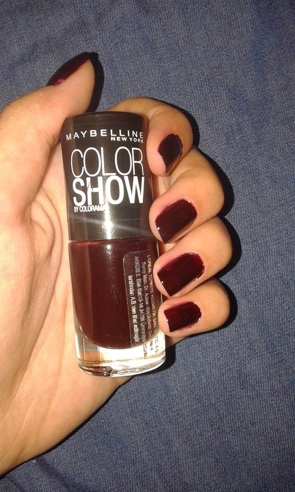 Maybelline  Color Show  357 Burgundy Kiss