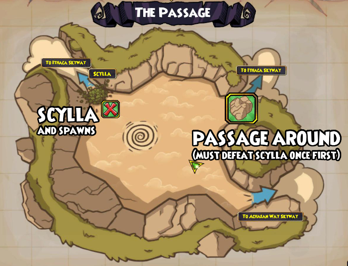 Pirate101 Scylla / Spawns Solo Guide | Aquila