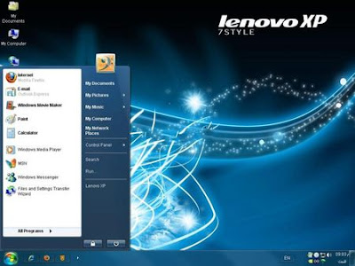 download Software Windows Lenovo XP 7 STYLE 2010 (with SATA  Support)
