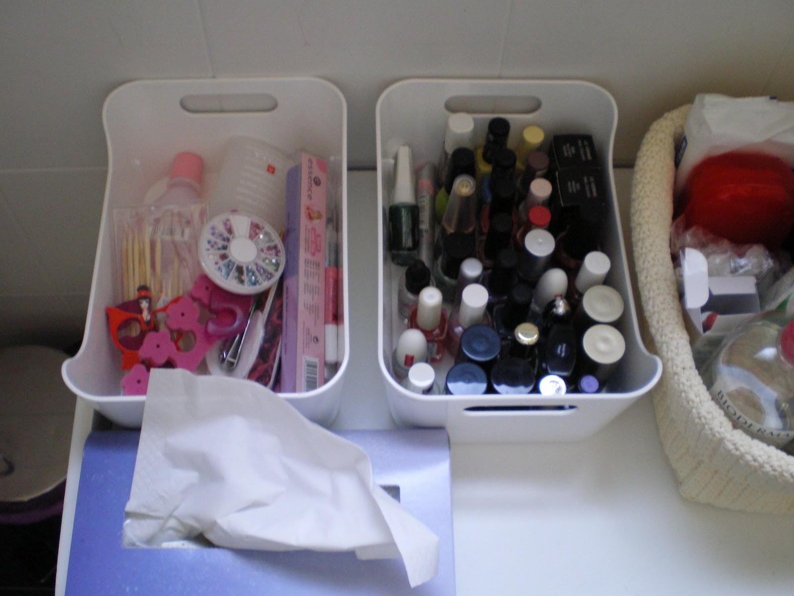 Non c 39 trucco e non c 39 inganno la mia postazione makeup for Porta sacchetti ikea