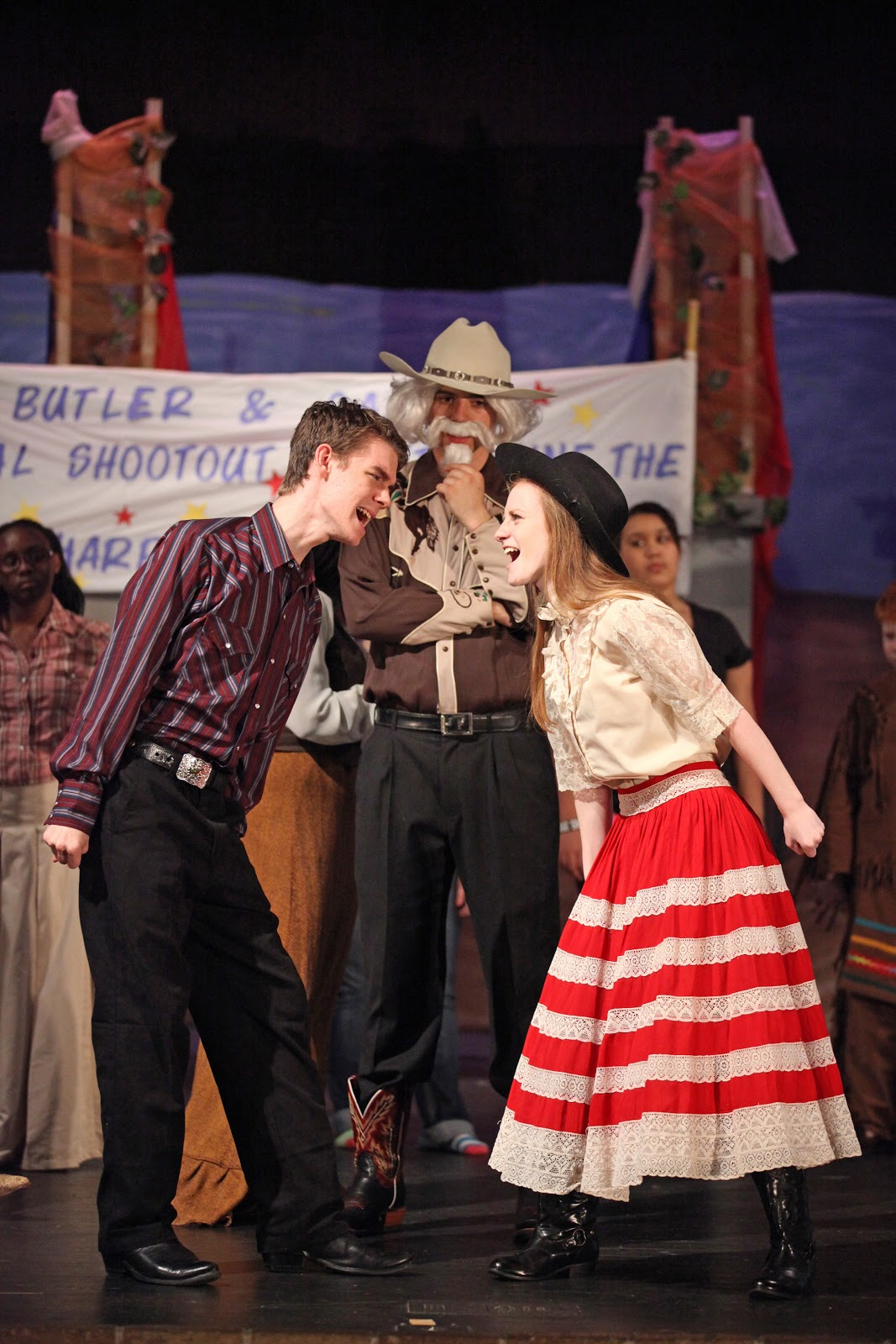 AHS Choral Department presents 'Annie Get Your Gun'