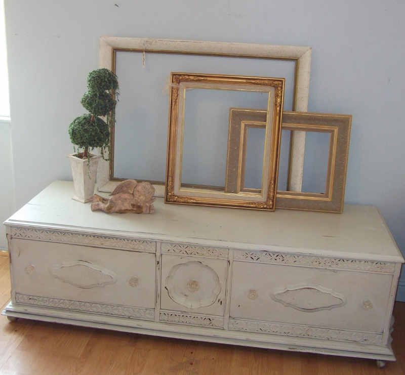 ms funky junk antique shabby chic entertainment center. Black Bedroom Furniture Sets. Home Design Ideas