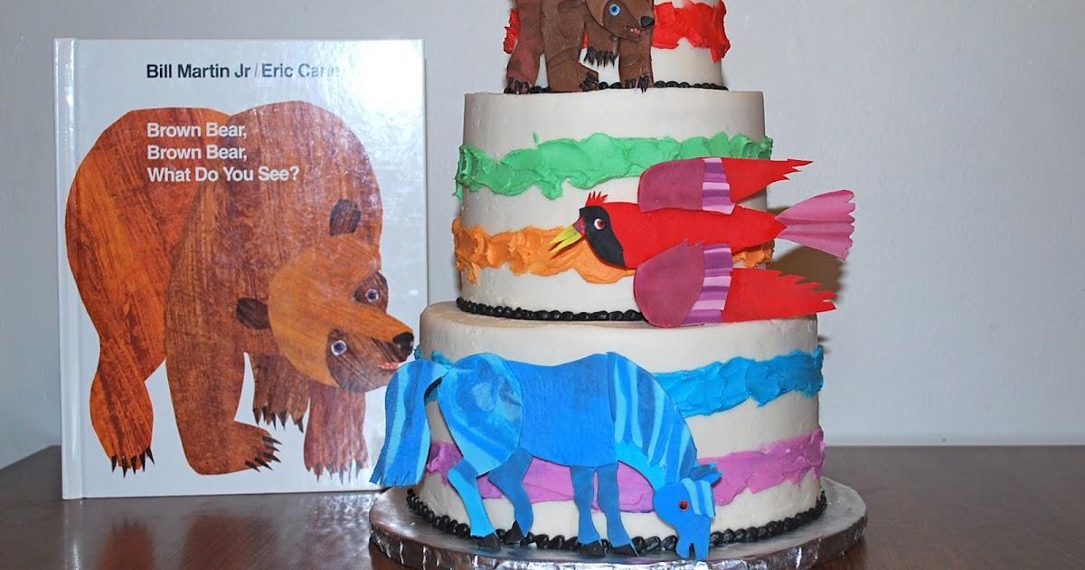 Brown Bear Cake