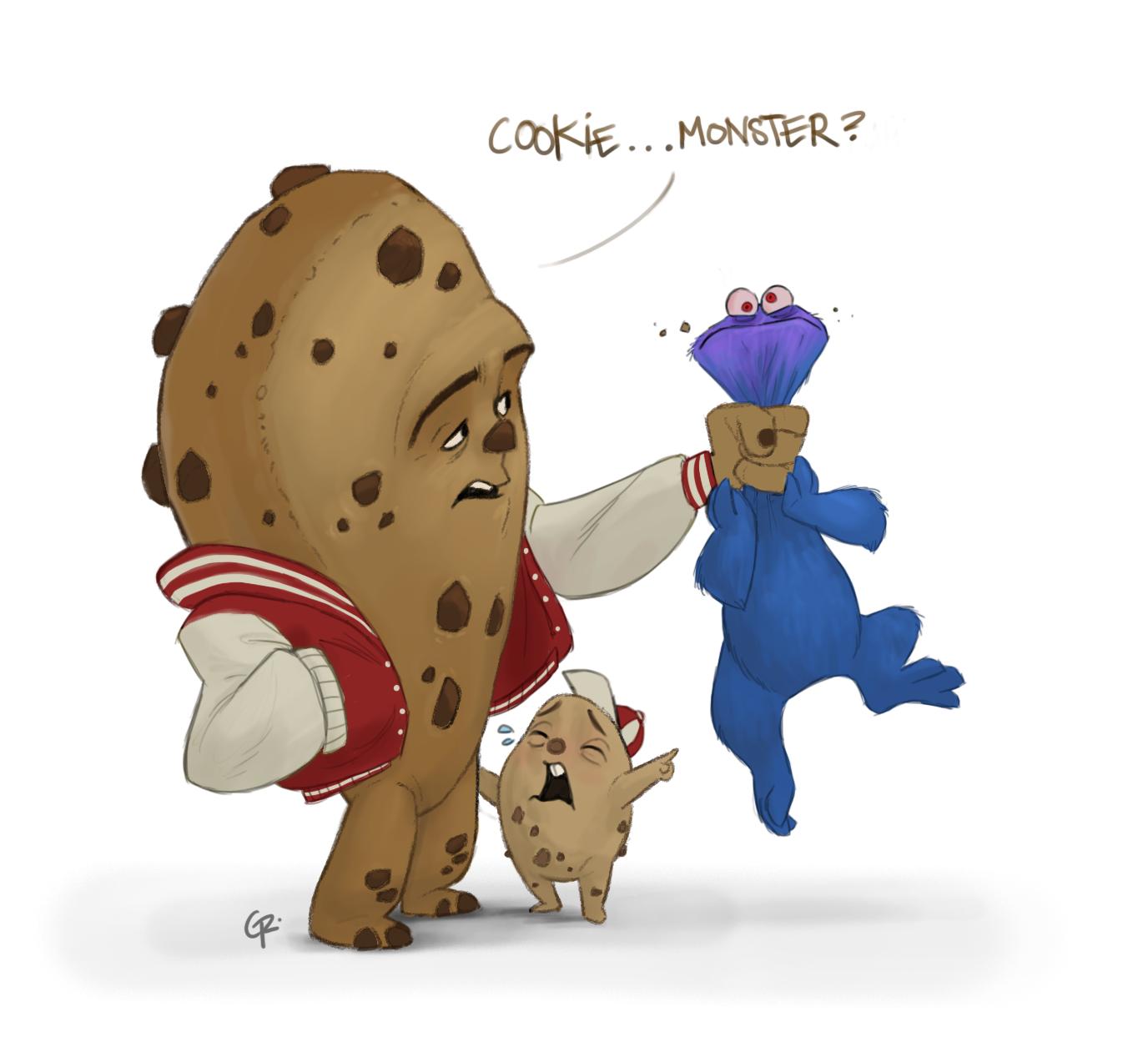 Cookie monster in porn nackt gallery
