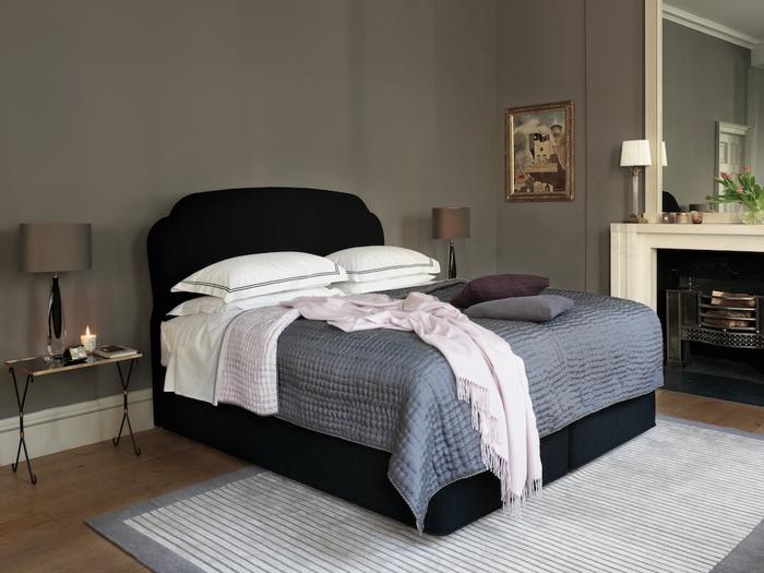 Decoraci n de la casa hermosos dormitorios con colchones divanes y cabeceros de vi spring - Camas supletorias y divanes ...