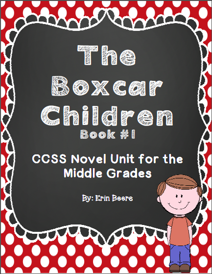 http://www.teacherspayteachers.com/Product/Boxcar-Children-Book-1-CCSS-Novel-Unit-for-Middle-Grades-898797