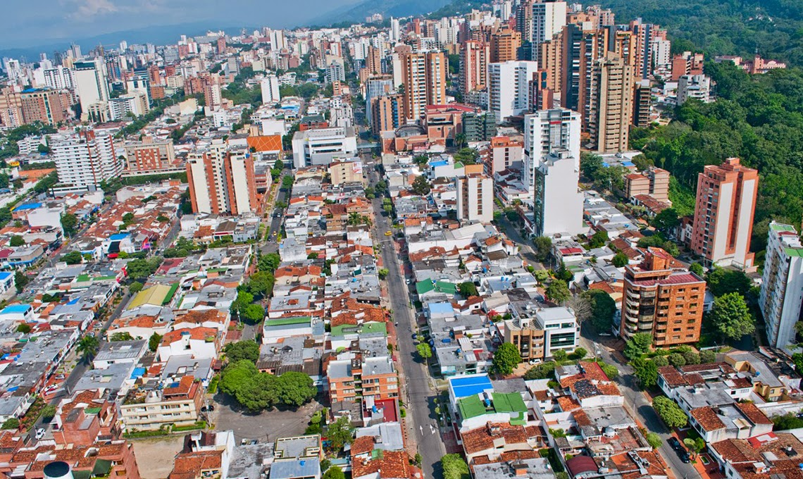 Principales ciudades de colombia ciudades industriales y for Arriendos en ciudad jardin sur bogota