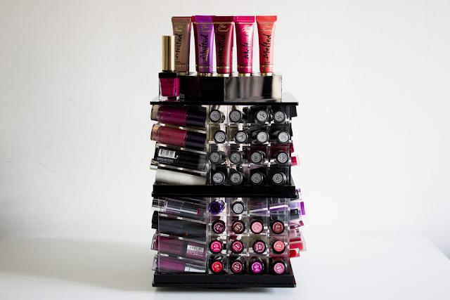 Ma Tour De Rangement Pour 146 Rouges A Levres La Vie En Lucie Blog Beaute Mode Bien Etre Paris