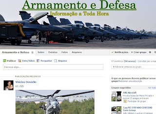 Entre para o grupo do Armamento e Defesa no Facebook
