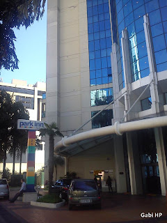 Entrada Park Inn Ibirapuera Devaneios de Biela