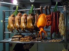 Hong Kong seafood stall