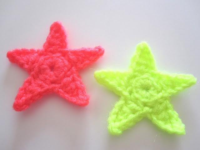 hæklet stjerne