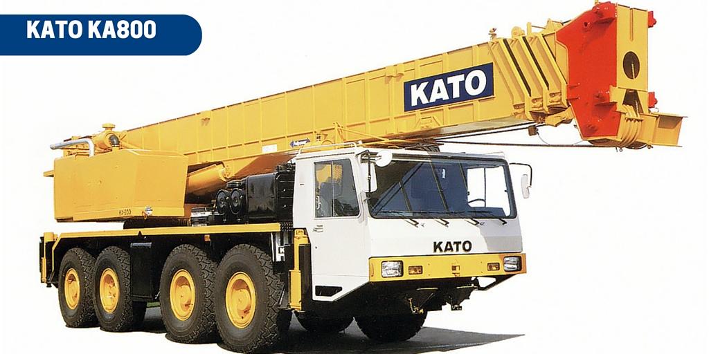 Kato 70t Rough Terrain Crane Load Chart : Kato ka all terrain crane ton cranepedia