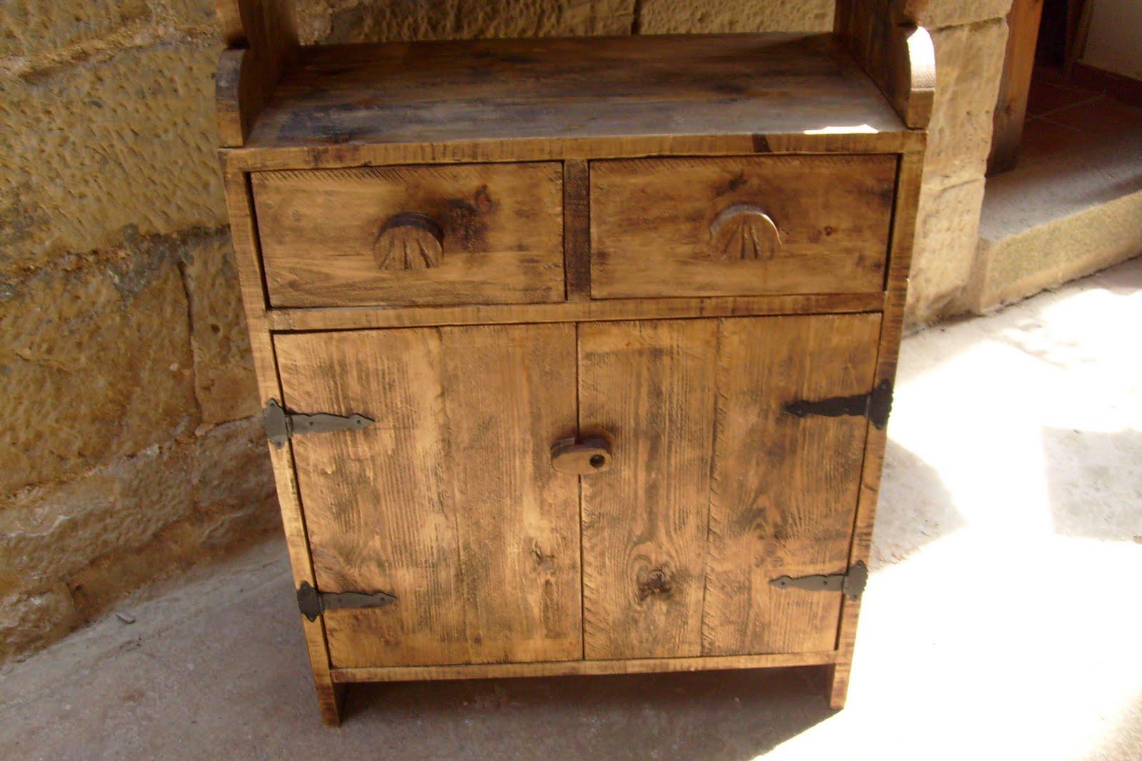 Muebles de antes alacena - Muebles de madera rusticos para cocina ...