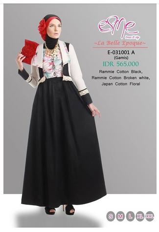 Contoh foto baju muslim modern terbaru 2016 trend baju muslim long dress modern untuk ke pesta 2016 - Foto moderne dressing ...