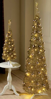 champagne pop-up christmas tree