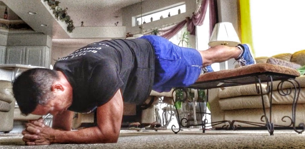 P90X2 Elevated Plank