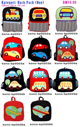 KONOKA BACK PACK FOR BOY - 10% Discount