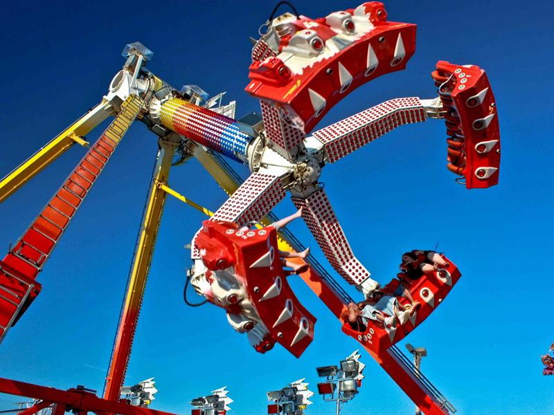 Amusement Park Ride Manufacturers Small Frisbee