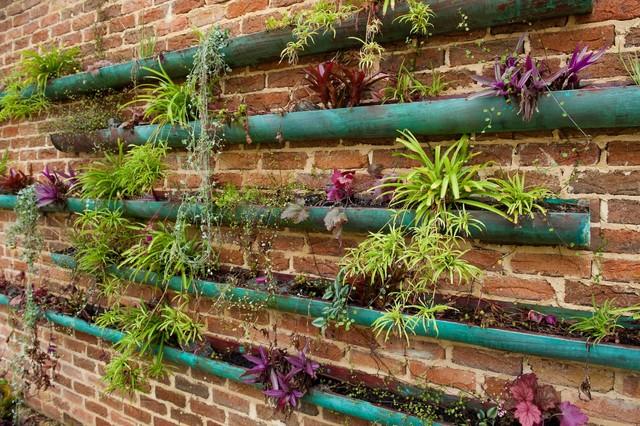 Ótimas ideias de jardins verticais