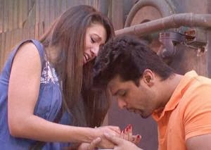 Gauhar Khan And Kushal Tandon new images 2013