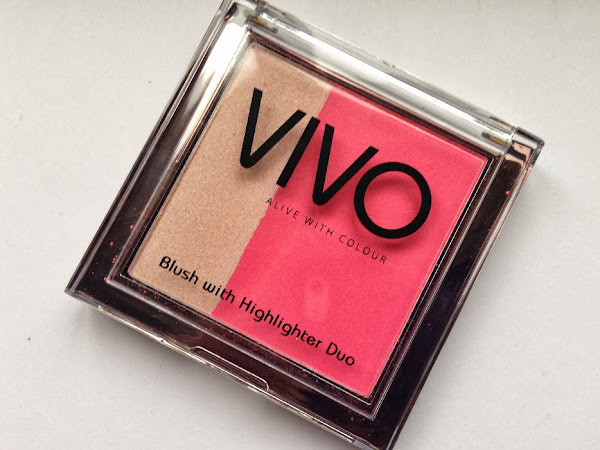 Vivo Blush And Highlighter Duo - Sugar Candy.