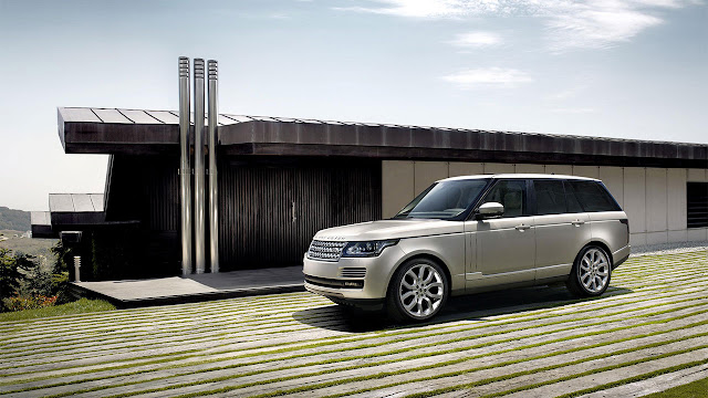 The All-New Range Rover front