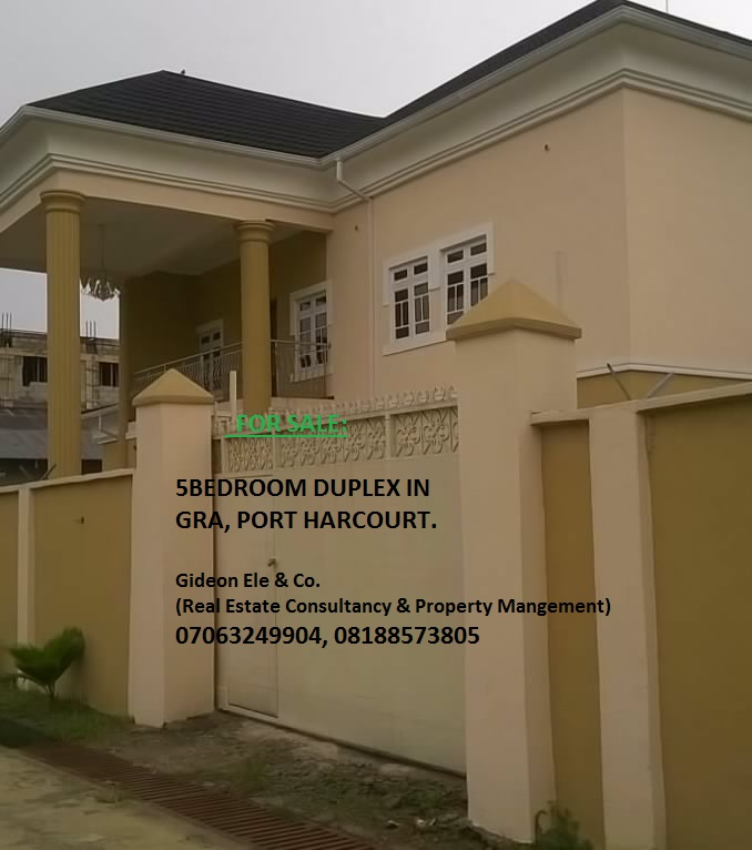 Property For Sale in GRA, Port Harcourt