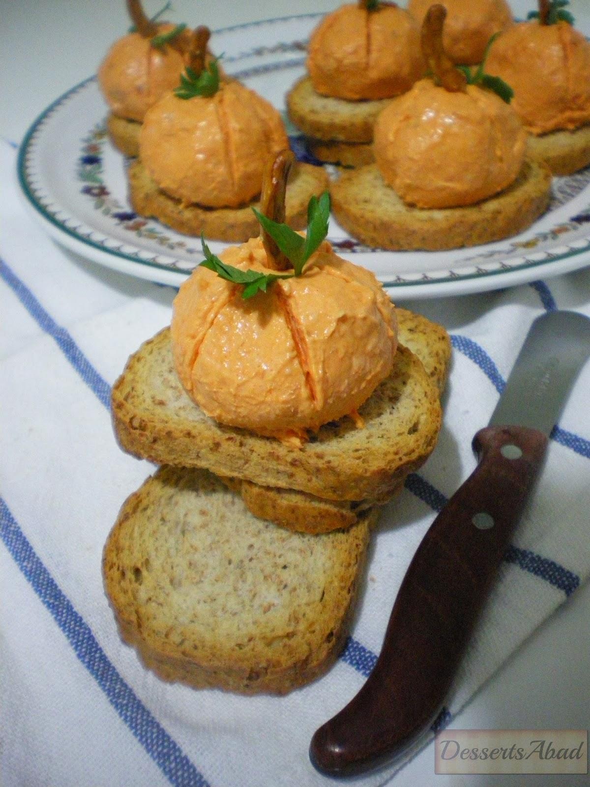 Calabacitas de queso y sobrasada