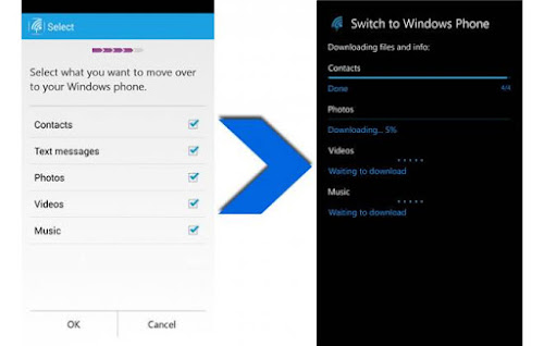 Switch to Windows Phone download