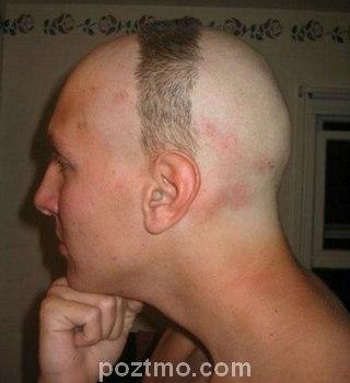 hairstyle pria unik
