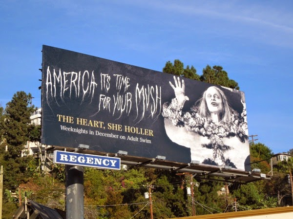 America time for your mush Heart She Holler billboard