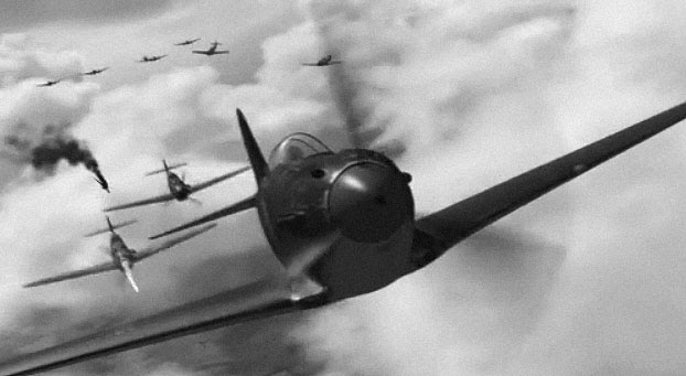 Rare World War 2 Dogfights part