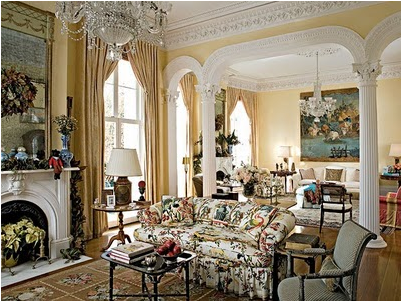 Old World Living Room Design Ideas