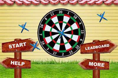 Shooting Darts Game