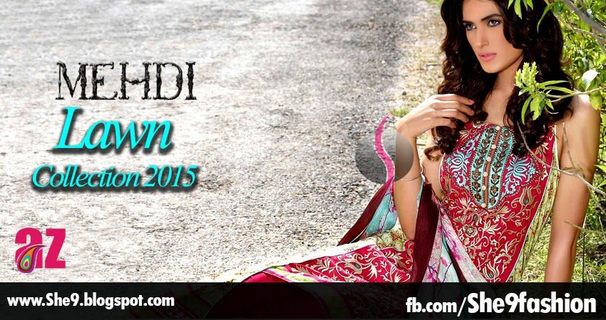 MEHDI - Lawn Prints 2015 Collection