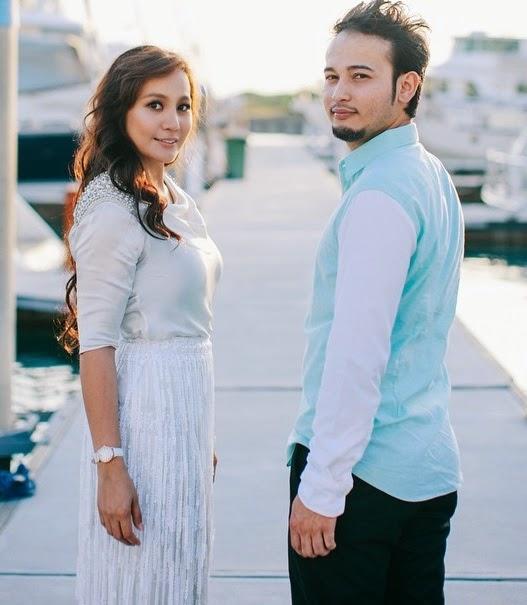 Luahan sedih Yana Samsudin buat suaminya Fadzil Zahari selepas berkahwin