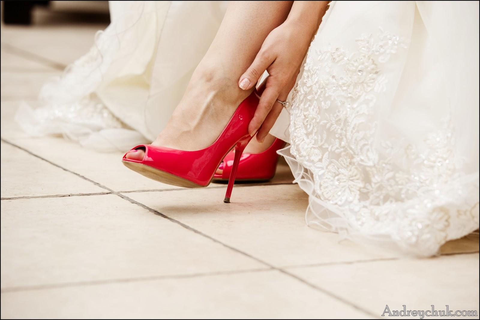 невеста, туфли