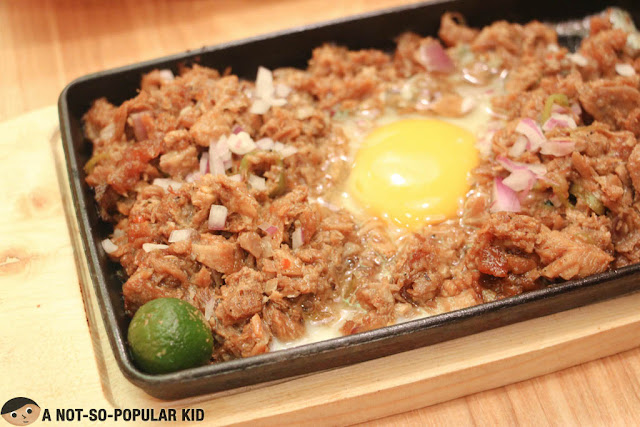 Sizzling Pork Sisig - Kuya J Restaurant
