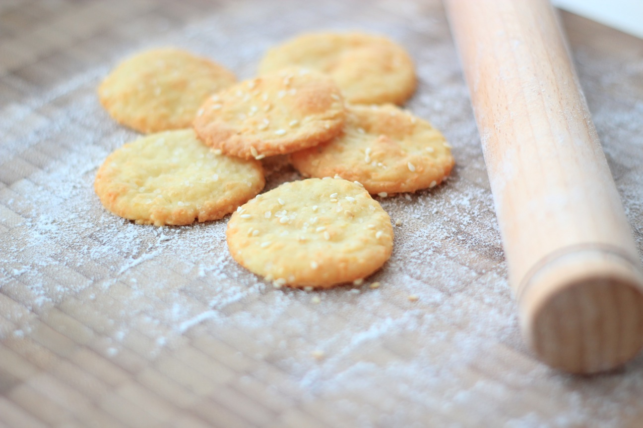 Как сделать крекеры рецепт
